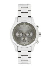 French Connection Men Silver-Toned Dial Watch FC1144SWJ