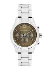 French Connection Men Metallic Brown Dial Watch FC1144TMWJ