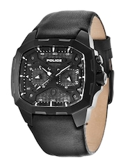 Police Men Black Dial Watch PL13929JSB02J