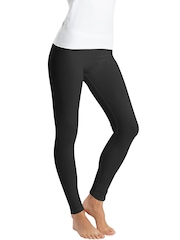 Jockey Women Black Ankle-Length Leggings
