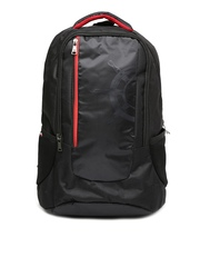 Tommy Hilfiger Men Black Bikers Collection Backpack