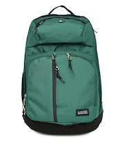 Tommy Hilfiger Unisex Green Stapleton Laptop Backpack