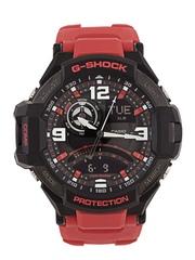 CASIO G-Shock Men Red Analogue & Digital Multifunction Watch G542