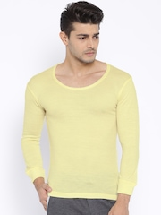 Duke Men Cream-Coloured Thermal T-shirt BW1