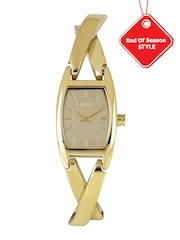 DKNY Women Gold-Toned Dial Watch NY8873I