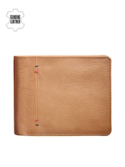 Teakwood Leathers Men Light Brown Wallet