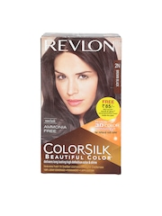 Revlon Brown Black Colorsilk Beautiful Hair Color 2N
