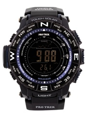Casio Protrek Men Black Digital Watch SL87