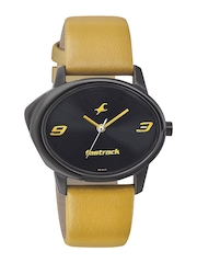 Fastrack Women Black Dial Watch 6098NL02