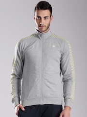 HRX by Hrithik Roshan Grey Melange Active Jacket