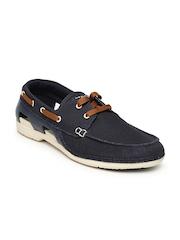 Crocs Men Navy Boat Shoes