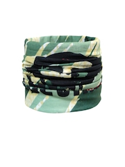 NOISE Unisex Green Printed Multipurpose Headwear