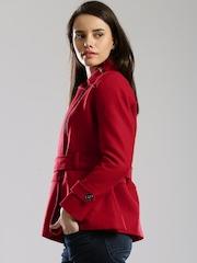 DressBerry Red Short Coat