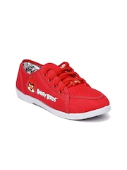 Angry Birds Bata Women Red Sneakers