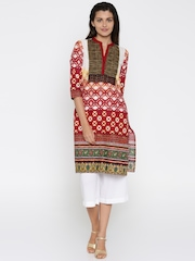 Rangmanch by Pantaloons Multicoloured Printed Kurta