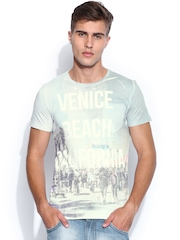 United Colors of Benetton Multicoloured Printed T-shirt