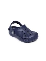 Crocs Kids Navy Blue Baya Clogs