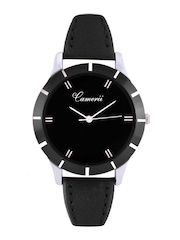 Camerii Black Dial Analogue Watch CWL539