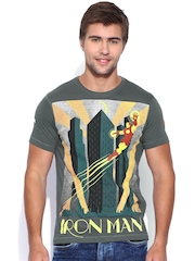 IRON MAN By KNK Grey Iron Man Print T-shirt