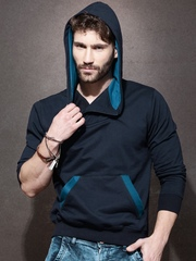 Roadster Navy Hooded Sweatshirt