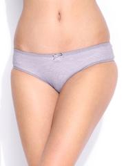 Amante Women Mauve Lace Briefs PAN24301