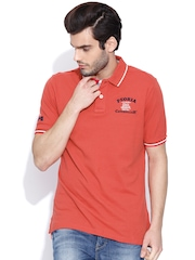 CAT Red Polo T-shirt