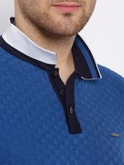 HARVARD Blue Supersoft Polo T-shirt