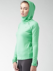 Nike Green Element Hooded T-shirt