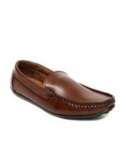 San Frissco Giorgio Men Coffee Brown Loafers