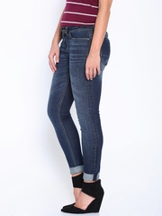 HARVARD Blue Skinny Fit Jeans