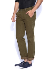 Turtle Brown Slim Smart Casual Trousers