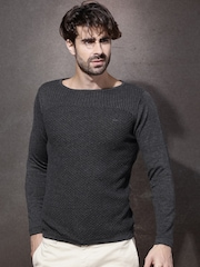 Roadster Charcoal Grey Sweater