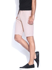 The Indian Garage Co. Peach-Coloured Shorts