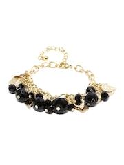 DressBerry Gold-Toned & Black Bracelet