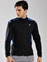 HRX by Hrithik Roshan Black Active Pro Cycling Sweatshirt