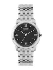 Citizen Men Black Dial Eco-Drive Watch AR0015-68E