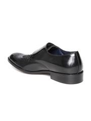 INVICTUS Men Black Monk Shoes