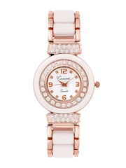 Camerii Women White Dial Watch CWL611