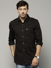 French Connection Black Casual Shirt