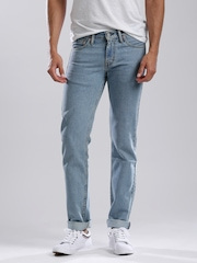Levis Blue Slim Low-Rise Jeans 511