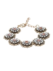 DressBerry Antique Gold-Toned Bracelet