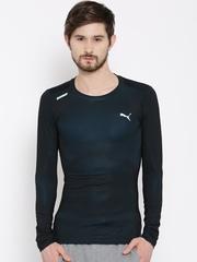 PUMA Black & Blue ACTV Power T-shirt