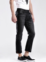 GUESS-Black-Slim-Straight-Fit-Jeans