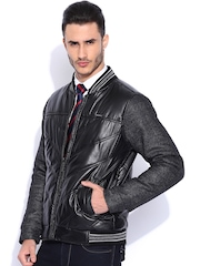Harvard Black Biker Jacket