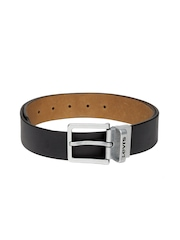 Levi's Men Black & Brown Reversible Leather Belt
