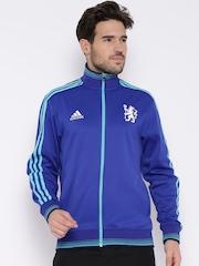 Adidas Blue Chelsea F.C. Football Jacket