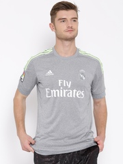 Adidas Grey Melange Real Madrid Jersey