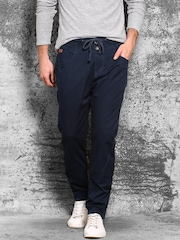 WROGN Navy Slim Fit Trousers