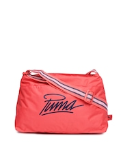 PUMA Women Coral Pink Sling Bag