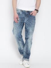 Jack & Jones Blue Washed Boxy Loose Fit Jeans